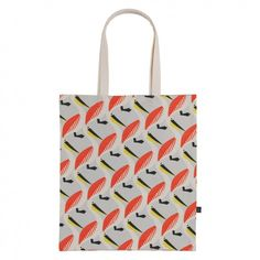 PELLY Multi-coloured patterned tote bag Plastic Carrier Bags, Embroidered Cushions, Tote Pattern, Soft Furnishings, Color Patterns, Color Pop, Pattern Design, Reusable Tote Bags, My Style