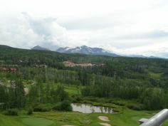 One of the magnificent views in #Telluride, Co.