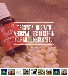 7 #Essential Oils with Medicinal Uses to Keep in Your Medicine Cabinet ... - #Health