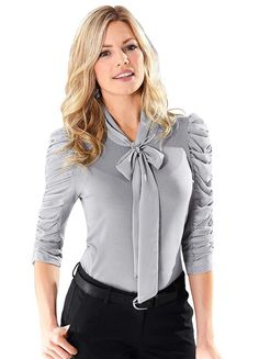 Fair Lady Ruched Sleeve Top