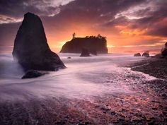 """Coast of Wonders"" - Ruby Beach, Olympic National Park, Washington © Copyright by Marc Adamus Canon Beach, Landscape Photographers, Pacific Northwest, Places To See, Monument Valley, Beautiful Places, Simply Beautiful, Amazing Places, Beautiful Pictures"