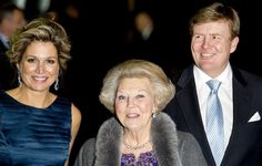 """The Dutch Royal Family attend the """"Beatrix met Hart en Ziel"""", a celebration of the reign of former Queen and now Princess Beatrix of the Netherlands, in Rotterdam on February 1, 2014"""