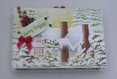 Handgemachte Geschenschachtel Geschenkbox  Weihnachten Christmas von KartengalerieDoris auf Etsy Frame, Etsy, Home Decor, Paper, Little Gifts, Christmas Gifts, Card Stock, Decorating, Handarbeit