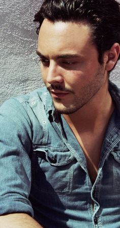 Jack Huston from Boardwalk Empire.....didn't really follow the show, but I like is face very much