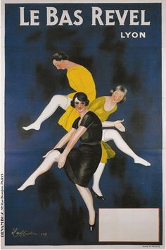 We love the deep blue in this Cappiello Art Deco poster! Vintage European Posters at vepca.com
