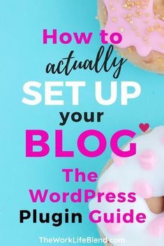 A WordPress tutorial on what exactly is a plugin for your website, why you need one, which WordPress plugins to Wordpress For Beginners, Blogging For Beginners, Make Money Blogging, How To Make Money, Blogging Ideas, Web Design, Blog Design, Wordpress Plugins, Ecommerce