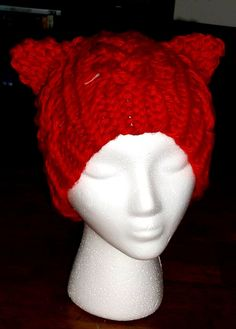 How To Loom Knit a Braided Cat Hat