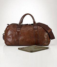 Polo Ralph Lauren Bag, Core Leather Gym Bag Men - All Accessories - Macy s b80dfbc831