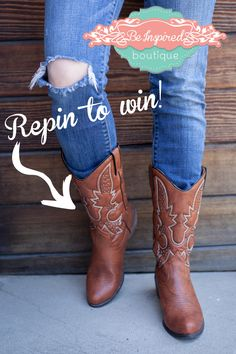 Omg I'd love to win these boots! @shopbeinspired