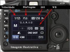 Configuração da câmera