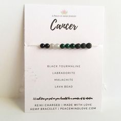 Moonstone Protection Choose a String Color Adjustable Hemp Hemp diffuser Wish Bracelet ~ Amethyst Black Onyx Intention Bracelet