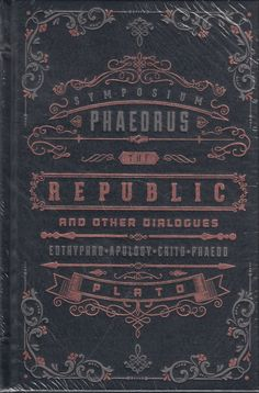 The Republic and Other Dialogues Plato Leather Still in Shrinkwrap | eBay