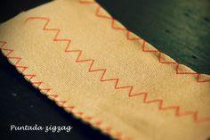 Aprender a utilizar la máquina de coser. Puntadas básicas de la maquina de coser