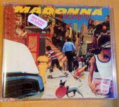 Madonna - Everybody (Cd Single - Yellow series) FRONT #Madonna