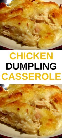Ingredients 3 boneless chicken breasts, boiled and shredded 2 c chicken stock (f. Shredded Chicken Casserole, Chicken Dumpling Casserole, Chicken And Dumplings, Casserole Dishes, Chicken Soup, Casserole Recipes, Bisquick Chicken Recipes, Recipes With Boiled Chicken, Recipe Using Cream Of Chicken