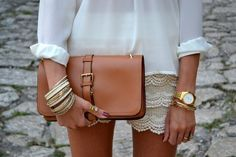Fancy - Fold Over Clutch Cute Fashion, Fashion Beauty, Womens Fashion, Fashion 101, Lace Short Outfits, Looks Chic, Fancy, Fashion Gallery, Lace Shorts