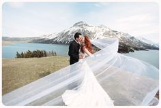 This is amazing! Won't have that veil, but wow, such a pretty picture.