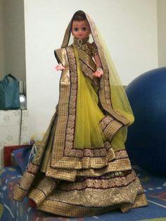Saree decoration