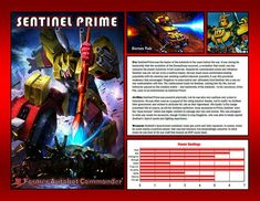 Sentinel Prime by CitizenPayne on DeviantArt