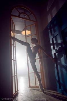 Ballet Dancer by Vladimir Konnov