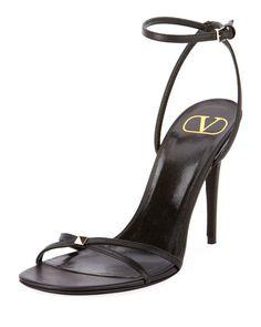 3ff7c804e95 Rockstud Ankle-Strap Sandals Valentino Rockstud