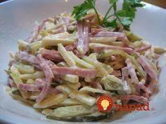Pork Recipes, Salad Recipes, Snack Recipes, Cooking Recipes, Healthy Recipes, Czech Recipes, Russian Recipes, Ethnic Recipes, Top Salad Recipe