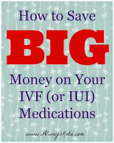 Always, Katie: BarBABYdos: How to Save BIG Money on Your IVF Drugs (Click through for 6 helpful tips!) save money on babies, infertility Unexplained Infertility, Pcos Infertility, Endometriosis, Ivf Treatment, Infertility Treatment, Trying To Get Pregnant, Getting Pregnant, Pregnant Tips, Lets Make A Baby