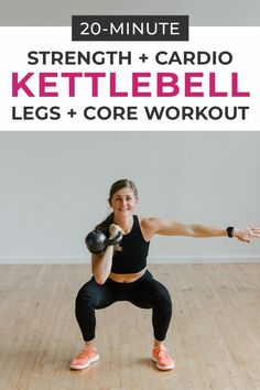 Strength and Cardio combine in this cross training AMRAP workout you can do at home! Grab a kettlebell and get after it! Strength and Cardio combine in this cross training AMRAP workout you can do at home! Grab a kettlebell and get after it! Full Body Kettlebell Workout, Amrap Workout, Leg Workout At Home, Kettlebell Cardio, Workout Challenge, At Home Workouts, Body Workouts, Boxing Workout, Workout Plans