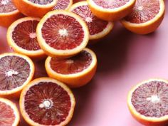 Blood oranges - so divine!  Fresh juice from these is worth the labor.