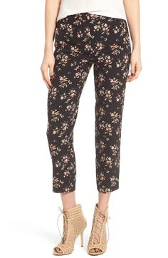 Free shipping and returns on Leith Print Crop Pants at Nordstrom.com. Freshen up your look with the pretty floral print of figure-skimming pants cropped to show off your footwear.