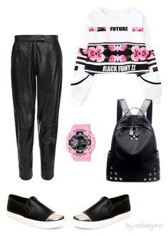 """Have fun"" by aakiegera on Polyvore featuring мода, Chicnova Fashion, Steve Madden, MuuBaa и G-Shock"