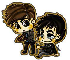 Alaric & Damon on TVD
