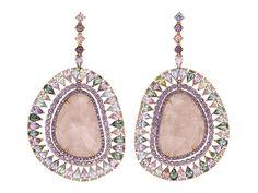 SHAWN WARREN Rainbow Morganite Earrings