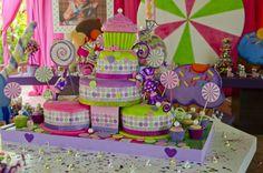 Mesa de La Torta - Mundo del Caramelo