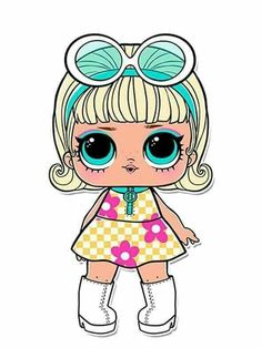 Confetti Pop Series 3 LOL Dolls are out! The series brought some exciting new additions and changes to the world of LOL Surprise… Lol Doll Cake, Doll Party, Lol Dolls, Cute Images, Big Eyes, Cute Drawings, Paper Dolls, Baby Dolls, Hello Kitty