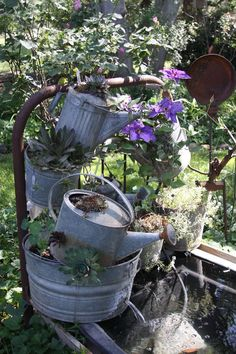 metal tipsy pots? - Garden Junk Forum - GardenWeb