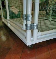 Sahja Siamese and Oriental Cage Plans | PVC Pipe Cages