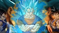 This HD wallpaper is about Dragon Ball Z Vegetto illustration, anime, Dragon Ball Super, Original wallpaper dimensions is file size is Dragonball Z Wallpaper, Goku Wallpaper, 1080p Wallpaper, Goku E Vegeta, Kid Goku, Goku Ultra Instinct Wallpaper, Collage Illustration, Latest Hd Wallpapers, Dragon Ball Z