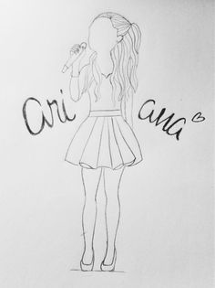 """""""Ariana,you are My Everything.This is my drawing.I hope that you'll see this. @ArianaGrande"""""""