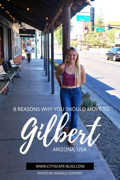 8 reasons why you should move to Gilbert, Arizona, USA Cityscape Bliss // travel journal Danielle Ruppert Blog blogger