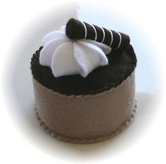 Pretend Play Kitchen - Chocolate Mousse Cupcake by Hiromi Hughes, via Flickr