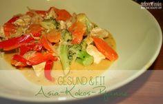 Asia-Kokos-Pfanne
