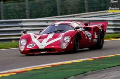 Lola T70 Mk.IIIB - Paul Gibson - FIA Masters Historic Sports Car Championship - Spa Six Hours 2015 — with Marcel Hundscheid at Circuit de Spa-Francorchamps.
