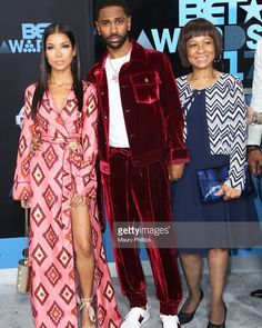 35cf922f920b8 Big sean with the two special women in his life