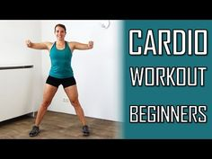 Cardio Workout for Beginners – Low Impact Cardio Exercises At Home for Beginners – No Equipment - YouTube