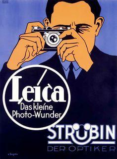 Leica / Das Kleine Photo-Wunder Pub Vintage, Vintage Stuff, Unique Vintage, Old Cameras, Vintage Cameras, Film Camera, Leica Camera, Camera Art, Vintage Photography