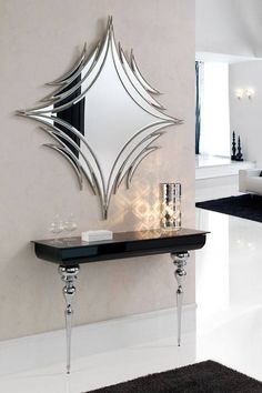 8 Marvelous Cool Tips: Wall Mirror Kitchen Living Rooms frameless wall mirror vanities.Modern Wall Mirror Design whole wall mirror decor. Rustic Wall Mirrors, Cool Mirrors, Diy Mirror, Wall Mirror Ideas, Entryway Mirror, Decorative Mirrors, Wall Mirrors For Bedroom, Wall Mirror With Shelf, Mirror Collage