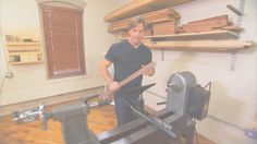Checkout the Laguna REVO Lathe on ROUGH CUT Woodworking with Tommy Mac at http://bit.ly/1EsdYk4 #lathe #REVOlathe #lagunatools #lagunalathe