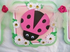 Hey, I found this really awesome Etsy listing at https://www.etsy.com/listing/107862491/pink-ladybug-banner-baby-shower-banner
