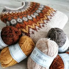 Fair Isle Knitting Patterns, Nordic Sweater, Brown Fashion, Yarn Crafts, Crochet Clothes, Knitting Projects, Fiber Art, Knit Crochet, Projects To Try